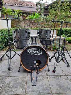Drum set rmv road brazil 5 pcs