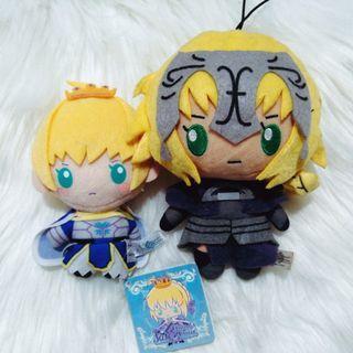 Fate/Grand Order Saber - Sanrio Plush Mascot SET [OFFICIAL]