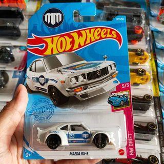 Hot Wheels Hotwheels Mazda RX3 Putih Diecast
