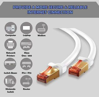 IBRA 40 Meters CAT7 RJ45 Ethernet Network Cable