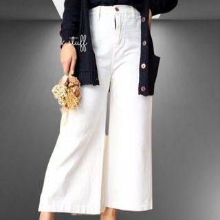 Kulot Jeans Broken White