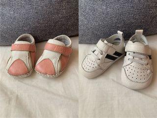 近全新new star全真皮童鞋 休閒鞋12cm 12.5cm