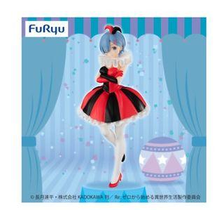 🎁Free Gift🎁 Ori Furyu 🌟 Re:Zero Starting Life in Another World Figure SSS Rem Clown in Circus