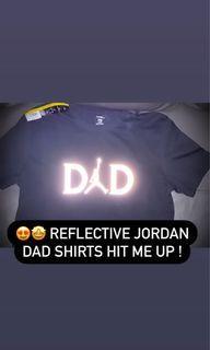 Reflective Jordan dad shirts