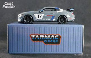 Tarmac Works Global64 - 1:64 Ford Mustang GT4 SEMA 2016 Presentation (Webstore Special Edition)