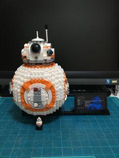 二手 Lego 75187 Star Wars BB-8 (已砌過)