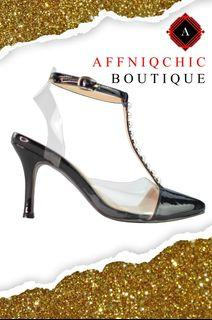 AFFNIQCHIC Lisa Pearl / Fashion Women Shoes High Heels  With Trasparent Pearl Women Shoes Sandals