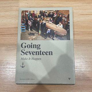 Album Going Seventeen Make It Happen
