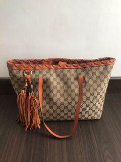 Authentic Gucci Tote Bag + Dustbag Preloved