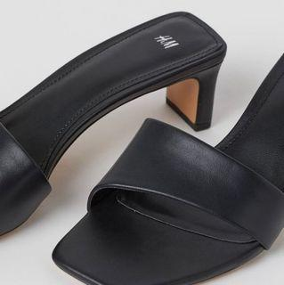 Black Mules / Slippers size 7.5