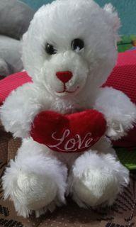 Boneka teddy kecil bulu lembut