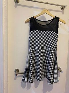chess sheer dress