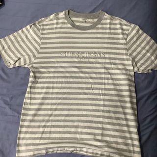 Guess x Asap Rocky Stripes Grey Tee