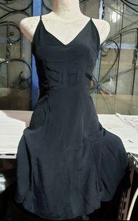 Mini dress backless forever21