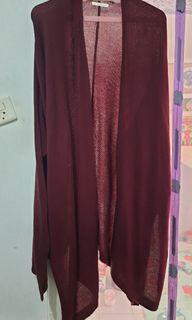 Outer merah maroon