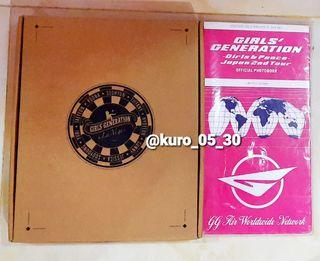 [Paket Set] SNSD Girls' Generation in Las Vegas Photobook dan Girls and Peace Japan Phobook