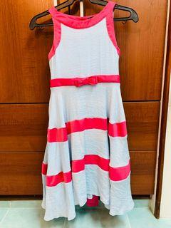 Periwinkle pink and blue dress size 14