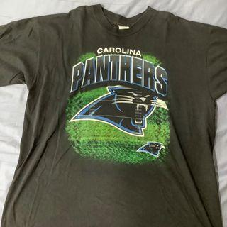 Vintage Carolina Panthers Black Tee
