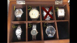 用不到便宜賣,個別賣機械錶,石英錶,收藏盒