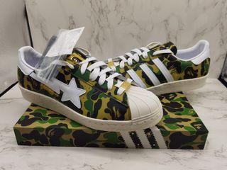 (女碼現貨)🇯🇵Bape x Adidas Superstar