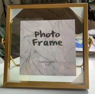 Clear Acrylic Photo Frame