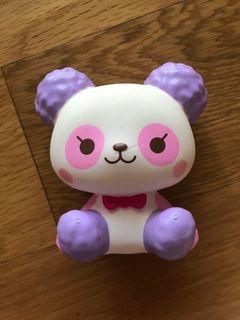Cotton candy panda squishy