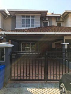 Double Storey House Desa Latania seksyen 36 Shah Alam