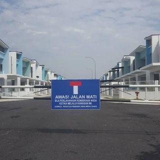 Double Storey House Taman Impian Cahaya Seksyen 30 Shah Alam