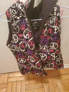 Girls size 14-16 hoodie vest
