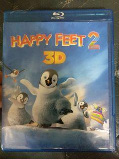 踢躂小企鵝2 Happy feet2  blu ray +3D blu ray 香港版雙碟裝 藍光not dvd