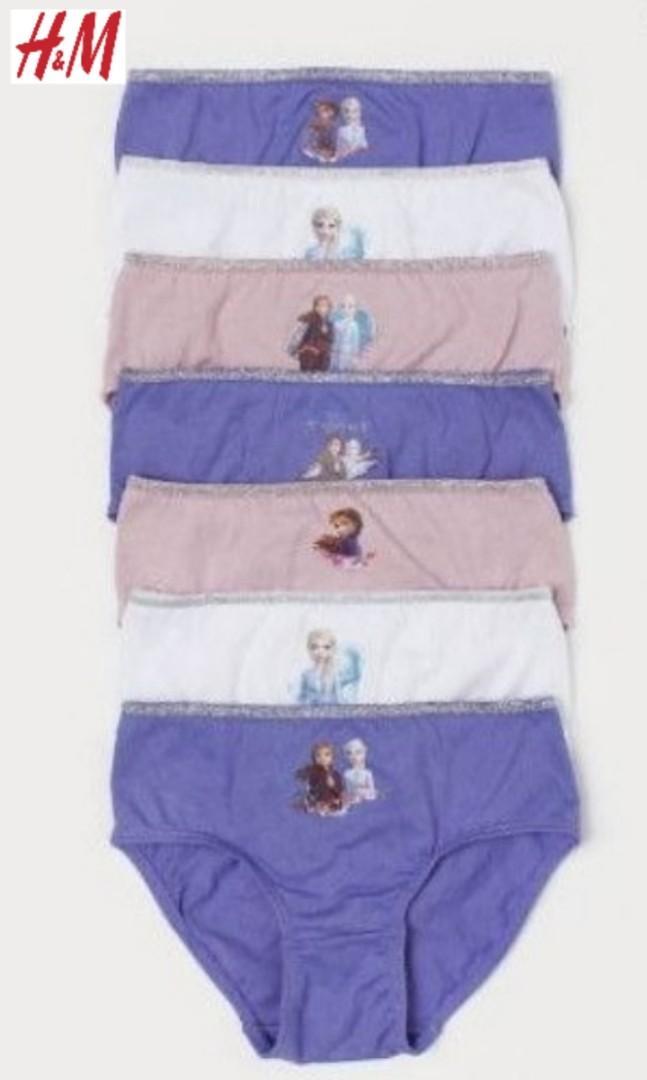 HNM Set Celana Dalam Anak Perempuan Frozen 1 Set isi 7pcs size 2-4thn