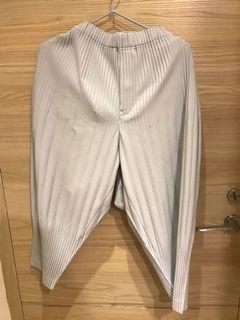 Homme Plisse 經典款廉摺褲 2號