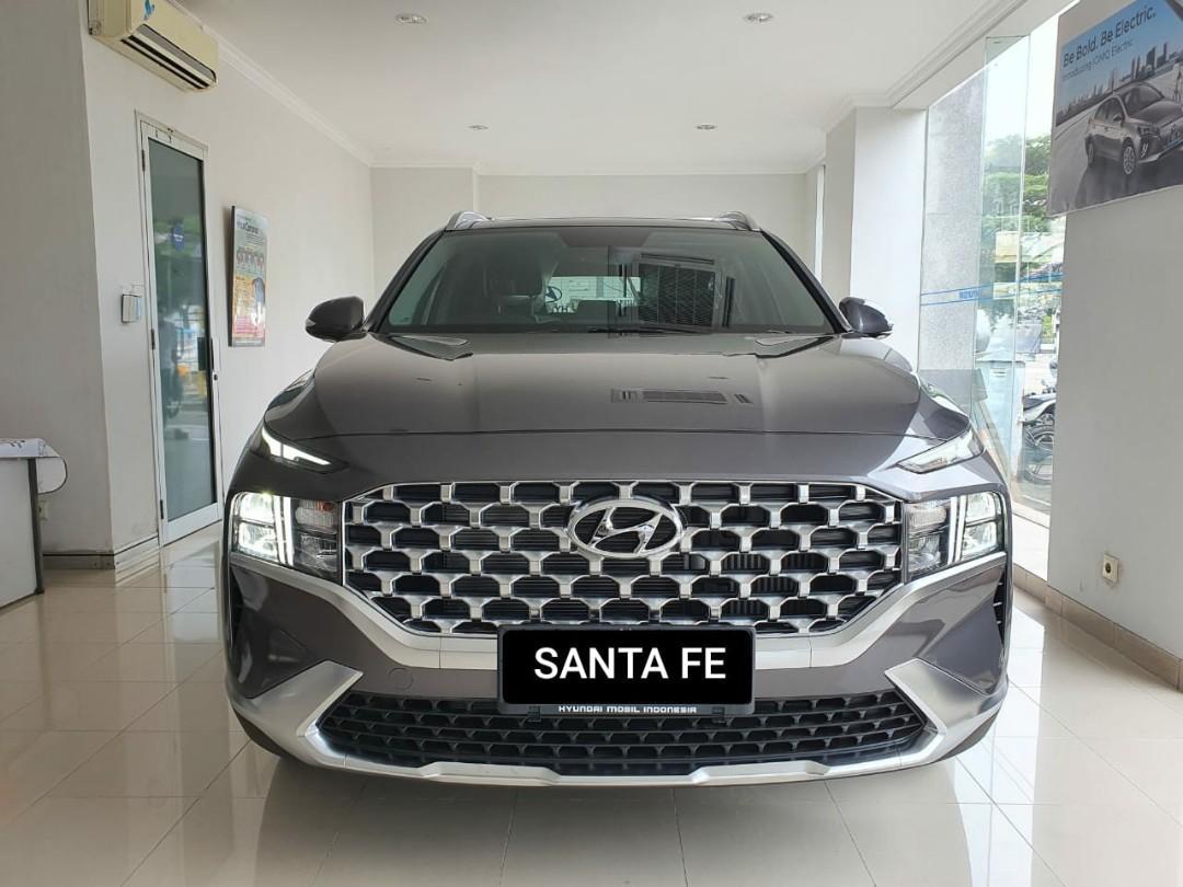 Hyundai new santafe signature diesel at 2021