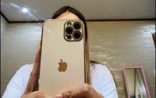 Iphone 12 pro case Rosegold and Black bundle