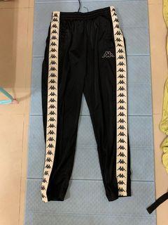 Kappa 合身版型 運動褲 米白 韓國製