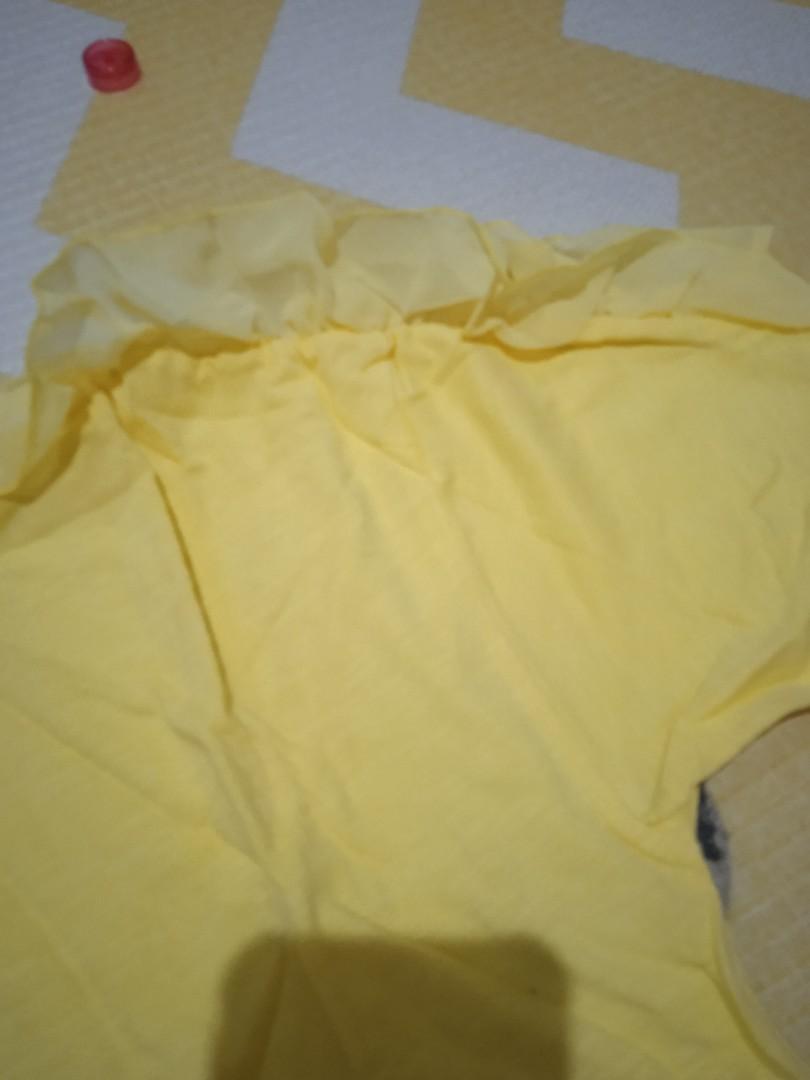 Korean rumple tshirt for girl