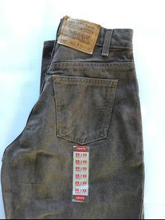 Levis Levi Strauss Jeans Denim Vintage 580 USA Original Ori Authentic Non Selvedge Second Preloved Bekas Thrift