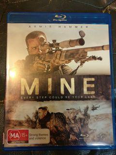 Mine Blu ray not DVD 雷霆孤軍藍光碟 English subtitles
