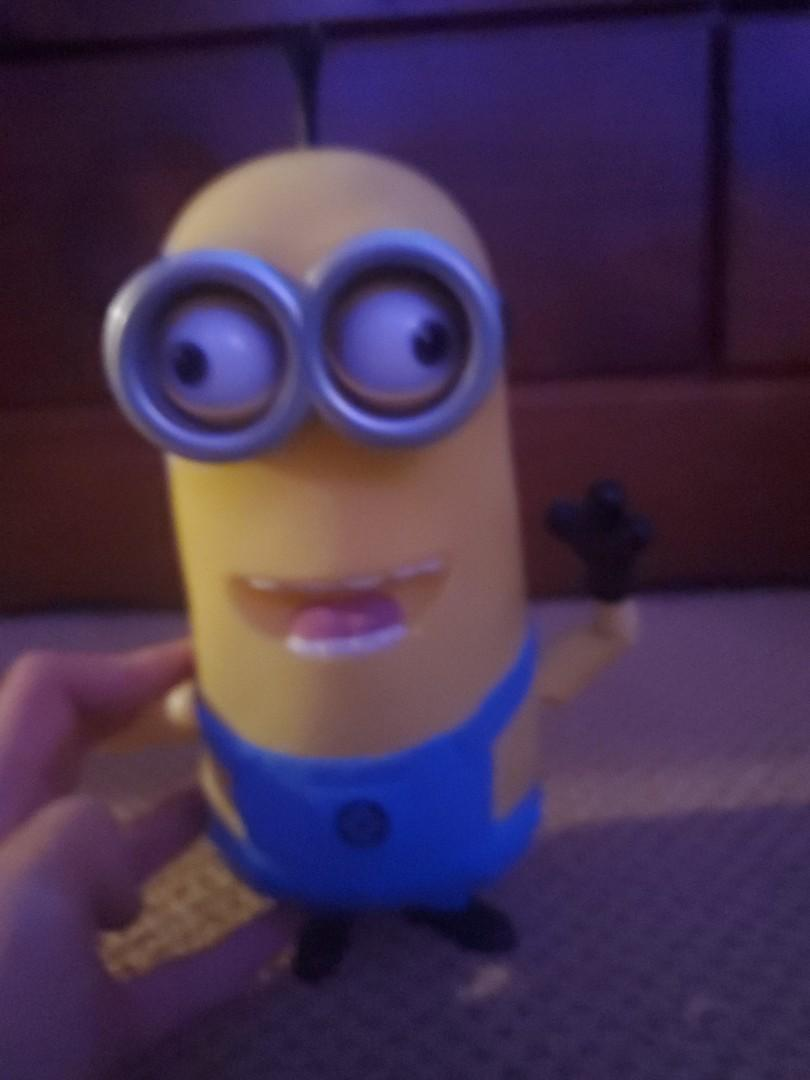 Minion with Voice Box & Movable Arms