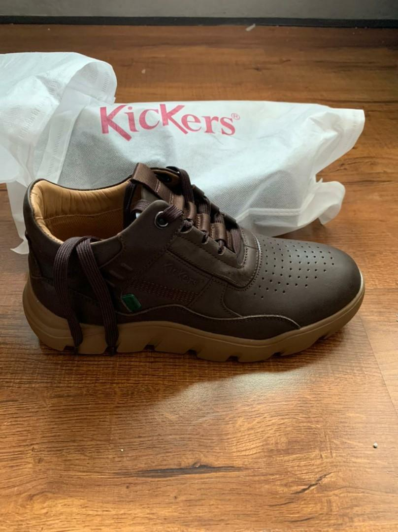 NEW! Kickers dark brown
