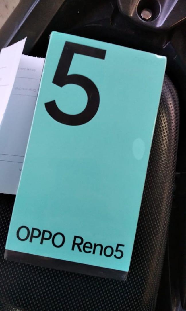 Oppo reno 5 8/128gb new baru