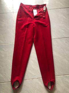 Pants red celana merah