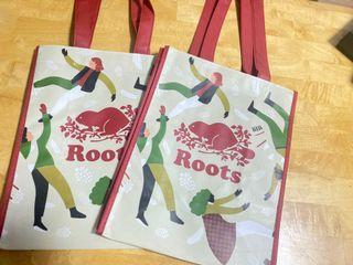 Roots 加拿大限定提袋