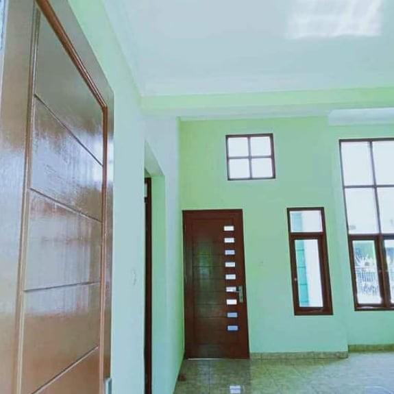 Rumah Cluster Murah dinding bata merah dataran tinggi tidak banjir siap huni Mangunjaya Tambun Bekasi