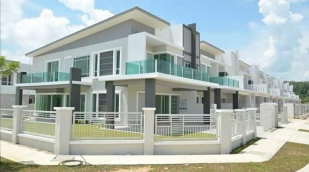 [Salary RM4000]Individual Title 🏠Double Storey Freehold 24x80