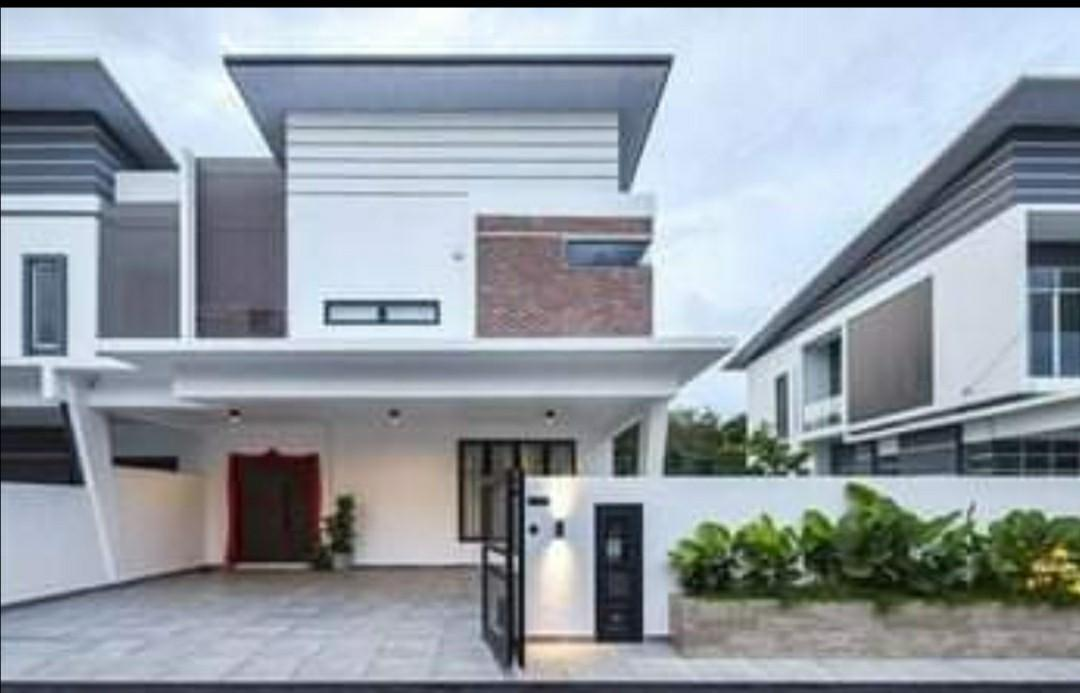 [Salary RM4500]Individual Title 🏠Double Storey Freehold 28x78