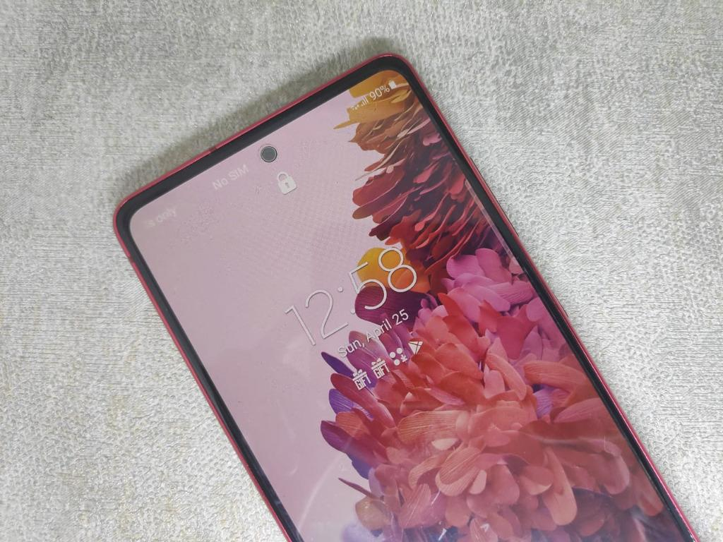 Samsung S20FE 8/256 Red SEIN Garansi Resmi Panjaang Galaxy S20 FE
