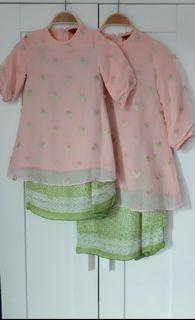 Set Baju kurung anak