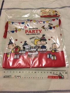 Snoopy Charlie Brown lucy 布索袋