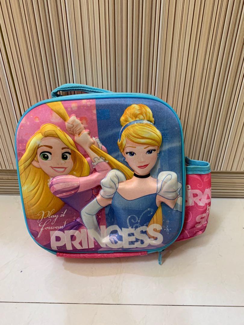 Tas anak princess /lunchbag princess /tas lunchbag anak/tas lunchbox